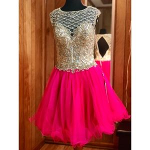 Homecoming Dress/ Cocktail Formal/ Prom Dress